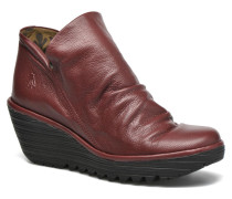Yip Stiefeletten & Boots in rot
