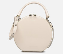 CIRCLE BAG CROSSBODY NAPLACK Handtasche in weiß