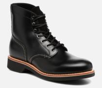 DUXBURY Boot Plain Toein000 Stiefeletten & Boots in schwarz
