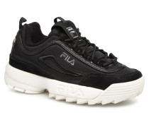 Disruptor Satin Low W Sneaker in schwarz
