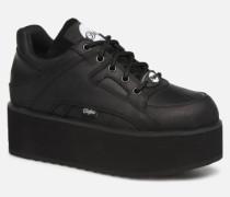 13306 Sneaker in schwarz