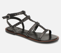 LAKKE Sandalen in schwarz