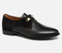 DIVYO Schnürschuhe in schwarz
