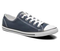 All Star Dainty Canvas Ox W Sneaker in blau