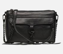 Mini MAC Handtasche in schwarz