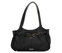 Uda Shoulder Bag Handtasche in schwarz