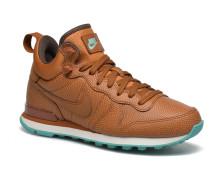 W Internationalist Mid Lthr Sneaker in braun