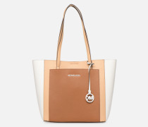 ANNETTE LG POCKET TOTE Handtasche in braun