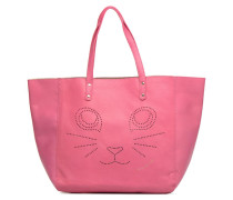 Paul & Joe Sister CABAS PERFORE CHAT Handtasche in rosa