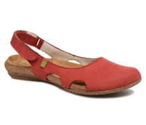 Wakataua N413 Clogs & Pantoletten in rot