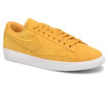 W Blazer Low Sd Sneaker in gelb