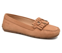 Harper Kiltie Tie Slipper in braun