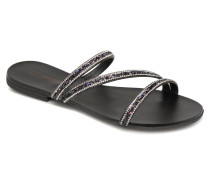 Nil slide Clogs & Pantoletten in schwarz