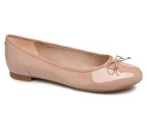 Couture Bloom Ballerinas in beige