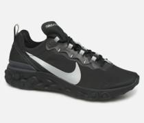 React Element 55 Se Sneaker in schwarz