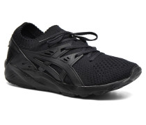 Gel Kayano Trainer Knit W Sneaker in schwarz