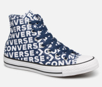 Chuck Taylor All Star Wordmark 2.0 Hi W Sneaker in blau