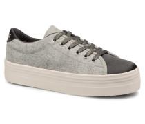 Plato Sneaker BeaminCotton Rib in grau