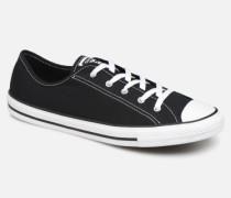 Chuck Taylor All Star Dainty Canvas Ox Sneaker in schwarz