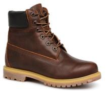 6 in premium boot w Stiefeletten & Boots braun