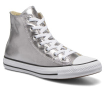 Chuck Taylor All Star Hi Metallics W Sneaker in silber