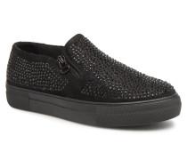 047460 Sneaker in schwarz