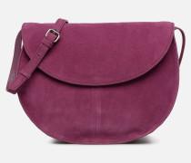 SEDONA SUEDE CROSSBODY Handtasche in lila