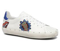 Michell Pop Nappa Sneaker in weiß