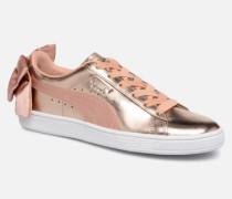 Basket Bow Lux Sneaker in rosa