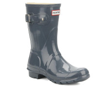 original short gloss w Stiefeletten & Boots in grau