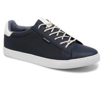 Jack & Jones JFW Trent Synthetic Suede Sneaker in blau