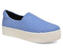 Cici Ribbed Sneaker in blau