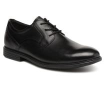 Madson Plain Toe Schnürschuhe in schwarz