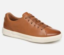 UN COSTA LACE Sneaker in braun