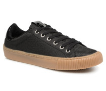 Deportivo Metalizado Sneaker in schwarz