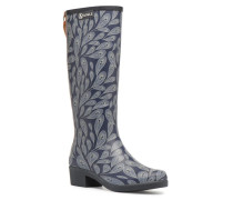 Miss Juliette Print Stiefel in blau