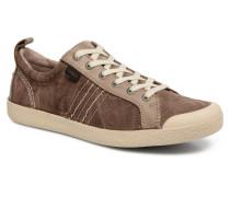TRIDENT Sneaker in braun