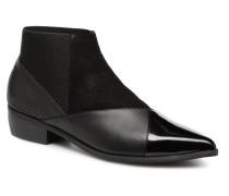 Zink Patch Lo Stiefeletten & Boots in schwarz