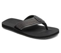 Jack & Jones Bob leather sandal Zehensandalen in grau