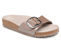 Madrid Big Buckle Clogs & Pantoletten in grau