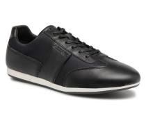 Plizy Sneaker in schwarz