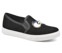 Eyes Sneaker in schwarz