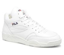Pine mid Sneaker in weiß