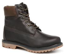 6 in premium boot w Stiefeletten & Boots schwarz