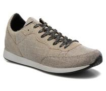 Run silver Sneaker in grau