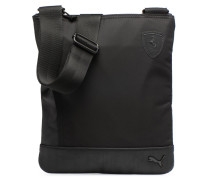 SF LS FLAT PORTABLE Herrentasche in schwarz