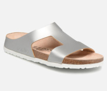 Charlize Cuir W Clogs & Pantoletten in silber
