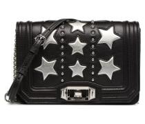Star Small Love Crossbody Handtasche in schwarz