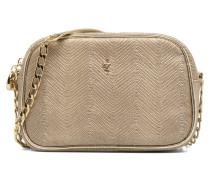BRAZZAVILLE Handtasche in goldinbronze