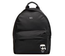KIKONIK NYLON BACKPACK Rucksäcke für Taschen in schwarz